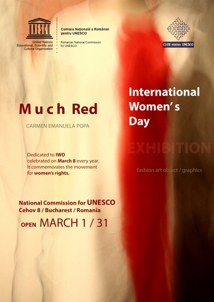 "Expoziția ""Much Red"" la sediul CNR UNESCO"