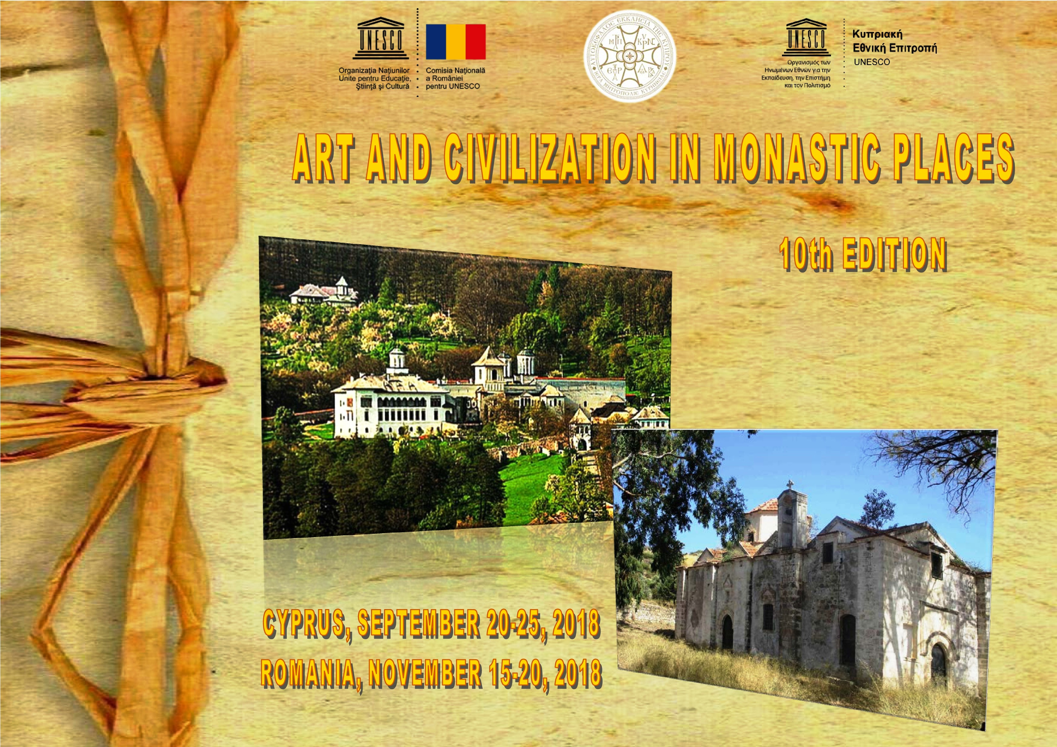Art and Civilization in Monastic Spaces - 10th edition