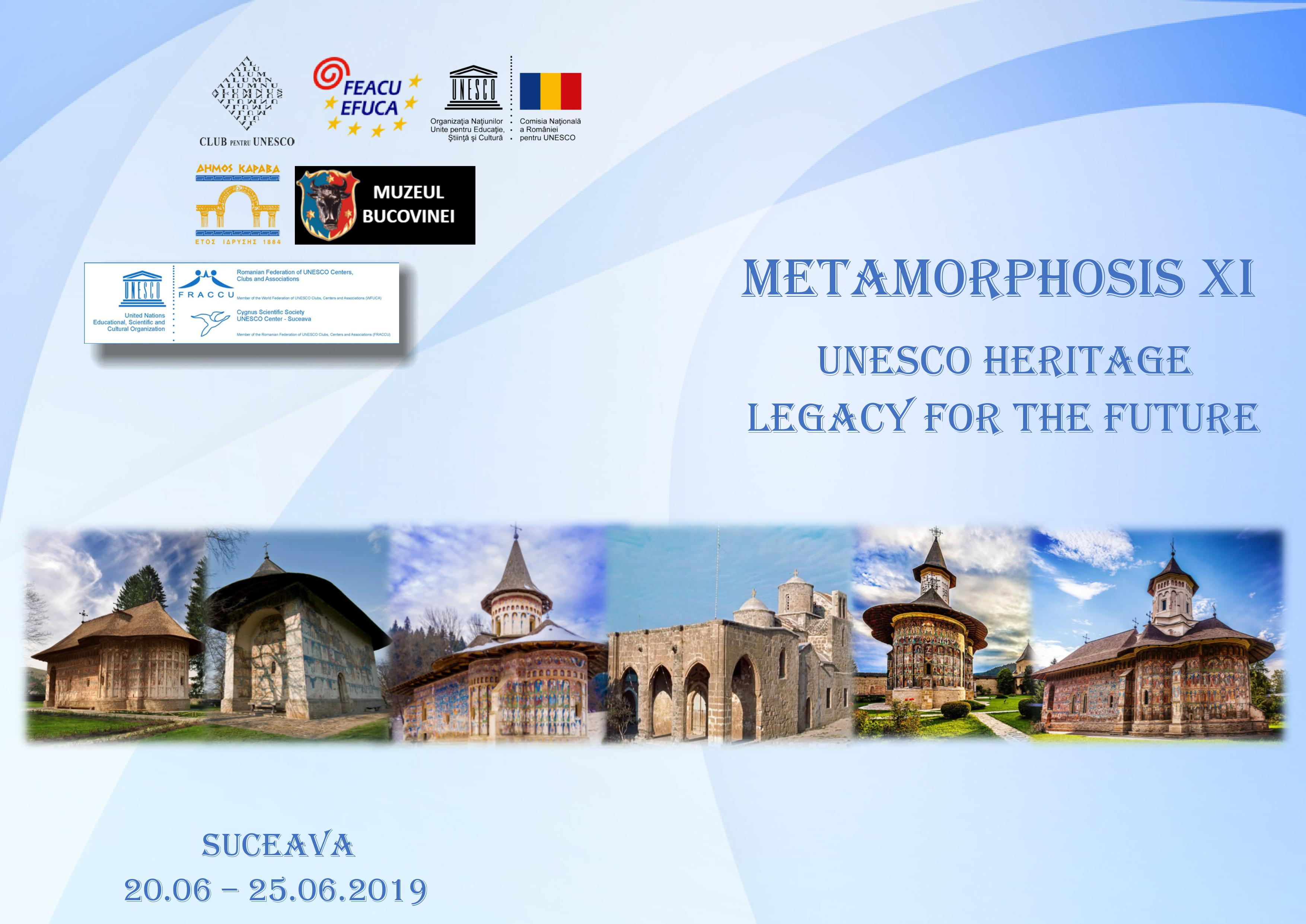 Metamorphosis XI - UNESCO Heritage, Legacy for the Future